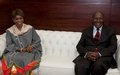 La Représentante spéciale et le Premier ministre évoquent le transfert des activités résiduelles de l'ONUCI