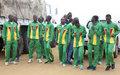Cinquante-sixième anniversaire de l'indépendance de la Côte d'Ivoire : participation des Casques bleus de l'ONUCI au cross-country et au défilé militaire