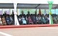 56e anniversaire de l'Indépendance de la Côte d'Ivoire : la Représentante spéciale assiste au défilé militaire auquel ont pris part des Casques bleus de l'ONUCI