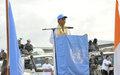 La Représentante spéciale inaugure la décharge municipale de Daloa réalisée par l'ONUCI