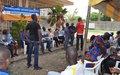 Bouaké : l'ONUCI et ses partenaires encouragent la jeunesse du quartier ''Zone'' à plus d'engagement