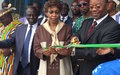 Inauguration du nouveau bâtiment du Centre de santé d'Akwé-Djemin de la commune d'Adjamé-Bingerville