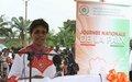Vingtième édition de la Journée nationale de la paix : la Représentante spéciale invite les élèves à être des citoyens fiers de construire et servir la paix en Côte d'Ivoire