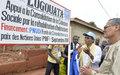 Département de Gagnoa : la Représentante spéciale remet aux populations plusieurs infrastructures à caractère communautaire financés par les  Nations Unies