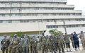 Ces Officiers et Observateurs militaires de l'ONUCI ont été décorés en reconnaissance de leur service pour la paix en Côte d'Ivoire (Abidjan, août 2016)