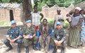 Les Observateurs militaires de l'ONUCI en patrouille dans plusieurs localités de la région de Bouna