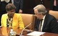 Consultations du Conseil de sécurité sur la Côte d'Ivoire : déclaration de la Représentante spéciale du Secrétaire général des Nations Unies pour la Côte d'Ivoire, Aïchatou Mindaoudou