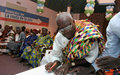 Les Rois et Chefs traditionnels signent un Engagement pour la promotion de l'Education à la paix