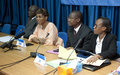 UNOCI and IEC organise sectorial meeting with women from political parties of Côte d'Ivoire