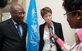 Arnauld Akodjénou reçoit la responsable Afrique du Ministère britannique des Affaires étrangères