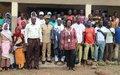 ONUCI Tour à Bandolé : les populations sensibilisées sur l'importance du règlement pacifique des conflits entre éleveurs et agriculteurs