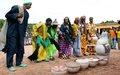 Journée des Nations Unies à Bouna: l'ONUCI a lancé les les travaux de réhabilitation de la salle polyvalente de la ville