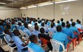 Les stagiaires du Centre de formation professionnelle de Guiglo sensibilisés aux violences basées sur le genre et aux droits de l'Homme
