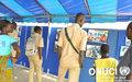 Exposition photo des activités d'appui de l'ONUCI pour la paix et la stabilité en Côte d'Ivoire, de 2004 à ce jour, lors de la 42e édition des Journées des Nations Unies  (Dimbokro, février 2016)