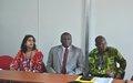 L'ONUCI participe à une réunion sur le processus désarmement, démobilisation et réinsertion des ex-combattants à l'Ecole Nationale de Police