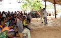 L'ONUCI exhorte Bamoro à des élections apaisées en 2015.