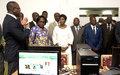 La Représentante spéciale inaugure deux projets d'assistance parlementaire à l'Assemblée nationale financés par l'ONUCI