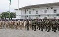 Le chef par intérim de l'ONUCI prend part à la cérémonie de décoration du 1er contingent ivoirien à la MINUSMA