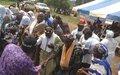 Les populations de Djouroutou scellent la paix et la réconciliation par les soins de l'ONUCI