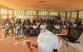 Les jeunes du canton Nezo s'engagent à promouvoir les droits de l'Homme et à lutter contre le virus Ébola