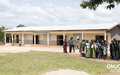 Anouanze Public Primary School was rehabilitated by UNOCI as part of its Quick Impact Projects programme (Barry-Chantier, November 2015)