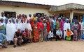 Les populations de Galébré et l'ONUCI échangent sur le renforcement la cohésion sociale et la création d'un environnement électoral apaisé