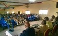 ONUCI-Tour boosts morale of Customs agents and the people of Ferkessedougou