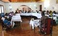 Femmes de la région de l'est et leaders communautaires d'Abengourou formés sur les mécanismes de protection des droits de la femme