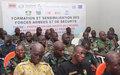 Le corps préfectoral, les FRCI et les leaders communautaires de Man formées aux droits de l'Homme en période électorale