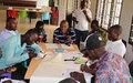 Atelier avec les leaders de jeunesse de Duékoué : les participants s'engagent à contribuer à un environnement électoral apaisé