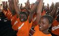 Les élèves des lycées et collèges de Bouaké s'initient à la culture de la paix