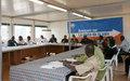 L'ONUCI forme les journalistes de la région des Lacs à la couverture des élections.