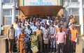 L'ONUCI  commémore la Journée internationale de la paix aux côtés des Ivoiriens