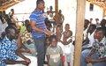 L'ONUCI sensibilise les populations de Koulouan à la cohésion sociale et au respect des droits humains