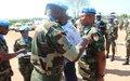 Remise de médailles aux soldats du 19e Contingent ghanéen de l'ONUCI