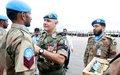 170 soldats du contingent pakistanais de l'ONUCI ont été décorés de la médaille des Nations Unies à Bouaké