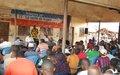 L'ONUCI exhorte les populations de Zoukougbeu à promouvoir la paix et le développement