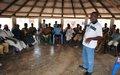 Les populations de Guehouo sensibilisées au respect des droits de l'Homme