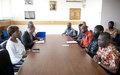 La Représentante spéciale échange avec des ex-détenus de la crise post-électorale