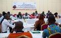 La Société civile apprend à communiquer sur la Réforme du Secteur de la Sécurité (RSS)