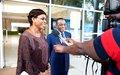 La Représentante spéciale et le Ministre ivoirien des Affaires étrangères font le point de leur coopération