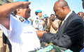 37 POLICIERS RECOIVENT LA MEDAILLE DES NATIONS UNIES