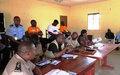 ONUCI Tour à Dikodougou : sensibilisation des populations sur le dépôt des armes, les élections apaisées et les grossesses en milieu scolaire