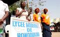Les jeunes de Bondoukou s'inscrivent sur la route de la paix.