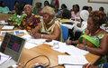 L'ONUCI et les associations de femmes s'accordent pour lutter contre les violences sexuelles