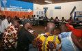 L'ONUCI forme les journalistes de la région des savanes à la couverture du processus électoral