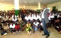 Les élèves du Lycée moderne de Ferkessédougou sensibilisés sur les violences basées sur le genre