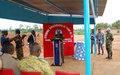 Le contingent bangladais de l'ONUCI réhabilite le champ de tir de l'école de gendarmerie de Toroguhé